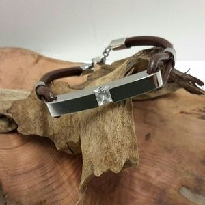 Jewelry - LEATHER URN BRACELET